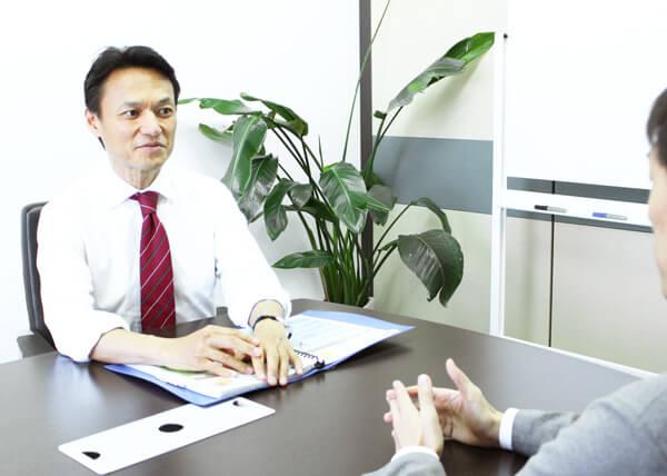 投資家との面談
